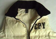 C.P. Company Body Warmer Junior Gilet Hood Piuma D'oca 8 years CP Cream Puffa