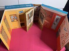VTG RARE 1964 Mattel Barbie Goes To College Cardboard