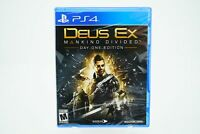 Deus Ex Mankind Divided: Day One Edition Playstation 4 [Brand New] PS4