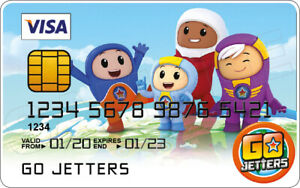 Go Jetters Novelty Plastic Credit Card