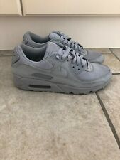 Mens Nike Air Max 90 Trainers Light Grey Size 8 RRP £115
