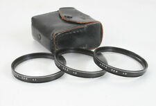 HOYA CLOSE-UP LENS SET, 55MM, WITH POUCH, +1, +2 AND +3/178383