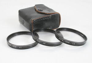 HOYA CLOSE-UP LENS SET, 55MM, WITH POUCH 1 2 AND +3/178383