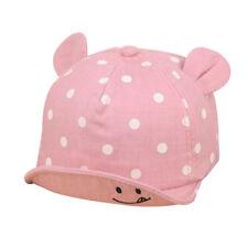 New Infant Toddler Kids Baby Caps Girl Boys Summer Sun Hats Cotton Baseball Cap
