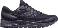 Men's Saucony Cohesion 13 Running Sneaker Black/Black Engineered Mesh