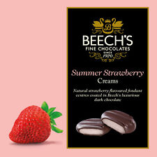 Beechs Chocolat Foncé Fraise crèmes Boîte 90gm (lot de 3 boîtes)
