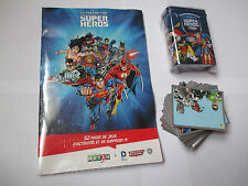 lot complet - Cartes autocollantes match / Super héros - justice league