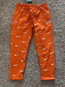 Kith & Nike For New York Knicks Orange AOP Fleece Pant NKCZ1792-820 Size XL *