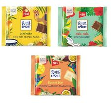 Ritter Sport Limited summer Chocolate Marhaba ,Buenos Días ,Hula Hula New