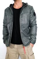 G-Star Jacke Rocket Quilted Hooded Overshirt L/S Gr.L White Cotton Battle Twil