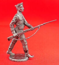 54 mm Tin Miniature Model Figurine Figure Toy Russian soldier Red Star army