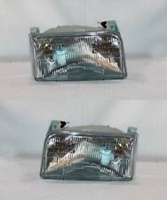 Right and Left Side Headlight PAIR For 1992-1998 Ford F-Series (9th Generation)