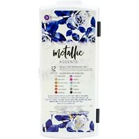 Prima Marketing Metallic Accents Semi-watercolour Paint Set, Multi-colour, -