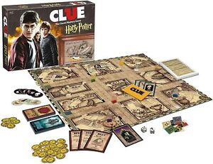 USAopoly: Clue Harry Potter Board Game