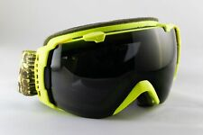 Smith I/O Snow Goggles - Neon yellow/green with Black Lens
