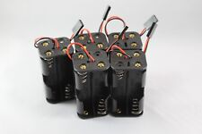 5pcs RC 4xAA Battery Holder With Futaba Plug For Receiver Cars Heli Planes Boats