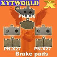 Front Rear Brake Pads Kawasaki ZX-6R ZX 600 ZX600 F1-F3