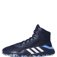 adidas Pro Bounce 2019 Men's Blue Basketball Shoes High Top Sneakers - F97283