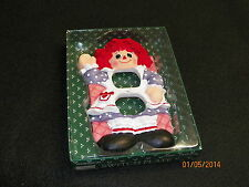 Raggedy Ann Nursery Switchplate Hand-Painted W/Hardware Must L@@K!!!