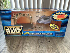Star Wars Action Fleet Gian Speeder and Theed Palace Limited Edition 1999