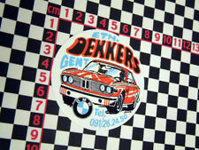 Retro Belgian Dealer Tuning Sticker Classic BMW M3 M5 316 318 320i 520i 316