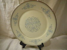 Dinner Plate, Oxford China (Division of Lenox), Bryn Mawr Pattern, Blue Filigree