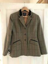 Equetech Hacking Tweed Jacket Size 34