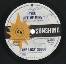 """THE LOST SOULS    One Of The Rarest Signed 1966 Oz Only 7"""" OOP Punk Beat Single"""