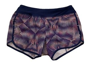 Nike DriFit Girls Medium M Purple Pink Athletic running shorts tie waist Dri-Fit