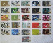 Starbucks Ltd Edition Cards ** 2014 COMPLETE ALPHABET SET (A to Z) ** MINT & HTF