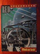 REO SPEEDWAGON Songbook WHEELS ARE TURNIN' Sheet Music 9 songs 1985 Kevin Cronin