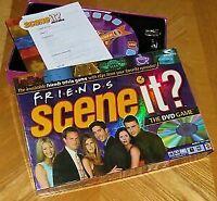 Friends Scene It DVD Trivia Board Game TV Show 100% Complete Mattel