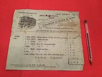 Charles J Barr & Sons London Antiques Reproductions  1936  receipt R36491