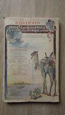 Bulletin SOCIETE DE GEOGRAPHIE D'ALGER ET AFRIQUE DU NORD 3e Trimestre 1910