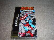Marvel Comics Super Heroes CAPTAIN AMERICA Goldstar Video VHS Volume 1 NEW