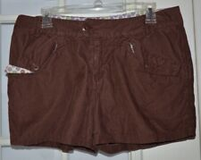 Horny Toad Corduroy Shorts Size 8