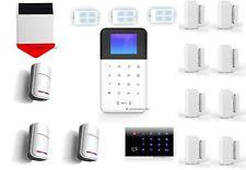 MEGASET Funk Alarmanlage W211 + GSM + Sirene + WIFI + APP , Full Touchpad