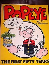 POPEYE The First Fifty Years, Bud Sagendorf