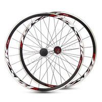 2x PASAK 700C Rad Laufradsatz 20 Vorderrad 24 Hinterrad Aluminiumfelge 30mm