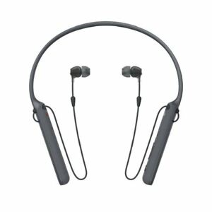 SONY WI-C400 Wireless In-Ear Headphones with Mic / Remote & Neckband Black UK
