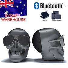 Skull Bluetooth Speaker Wireless Super Bass Stereo NFC 45W Subwoofer Portable AU