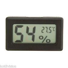 Digital LCD Temperature Thermometer Hygrometer Humidity Vivarium Tank Incubator