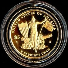 2011-W $5 Gold Coin Medal of Honor Commemorative Proof