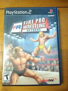 Fire Pro Wrestling Returns (Sony Playstation 2 ps2) Complete