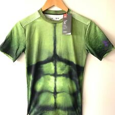 Under Armour Men's Alter Ego The Hulk Compression Shirt (1258691) - Large - Nwt