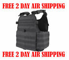 Condor Black MOLLE Operator Plate Carrier Body Armor Chest Rig MOPC-002 Vest