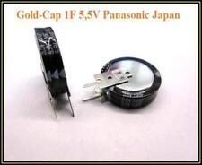Gold cap Panasonic memoria Elko 1,0f 5,5v condensador capacitor 1 trozo