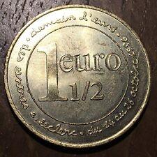 PIECE DE 1,5 EURO CENTRE E.LECLERC 1996 (283)
