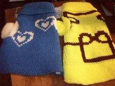 New listing Dog Sweaters Xs New Blue and yellow Sweaters