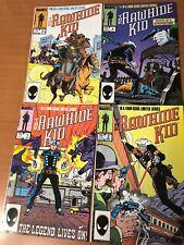 Rawhide Kid #1-4 Complete(Aug 1985, Marvel)  FN+